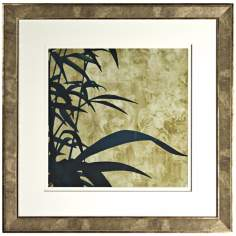 "Walt Disney Mulan Leaf Silhouette Framed 26"" Square Wall Art"