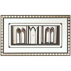 "Walt Disney Sleeping Beauty Arches Framed 44"" Wide Wall Art"