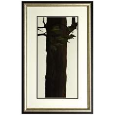 "Walt Disney Pocahontas Tree 78 Framed 30"" High Wall Art"