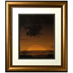 "Walt Disney The Lion King Sunset Framed 30"" High Wall Art"