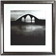 "Walt Disney Fantasia Arched Bridge Framed 34"" Wide Wall Art"