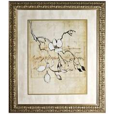 Walt Disney Fantasia Blossoming Branch Print Framed Wall Art