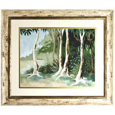 "Walt Disney The Jungle Book Print Framed 41"" Wide Wall Art"