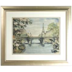 Walt Disney The Aristocats Parisian Street Print Framed Wall