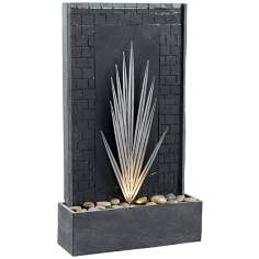 Kenroy Home Plaza Lighted Floor Fountain