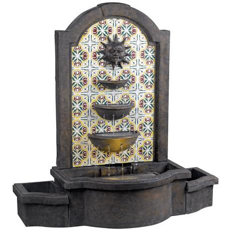 Kenroy Home Cascada Lighted Floor Fountain