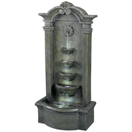 Kenroy Home Sienna Lighted Floor Fountain
