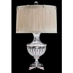 Schonbek Luxor Antique Silver Finish Crystal Table Lamp