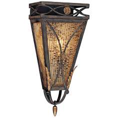 "Monte Titano Oro 19"" High Wall Sconce"