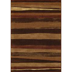 Elemental Composition Earth Area Rug