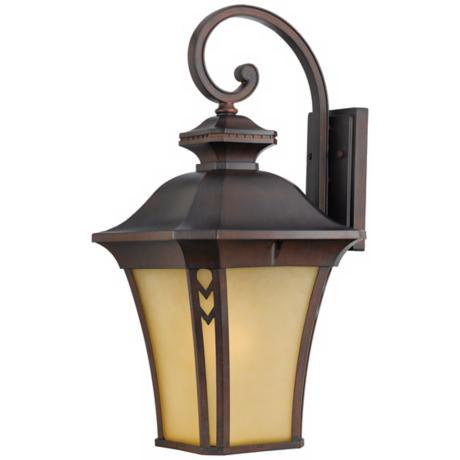 "Norfolk Collection Bronze 25"" High Outdoor Wall Light"
