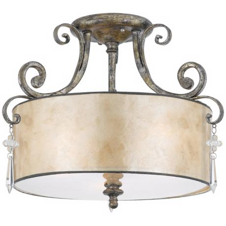 "Kendra Collection 13"" Wide Ceiling Light Fixture"
