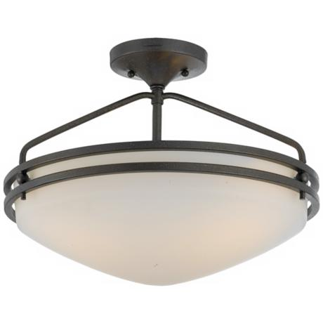 "Ozark Collection 16 1/2"" Wide Ceiling Light Fixture"