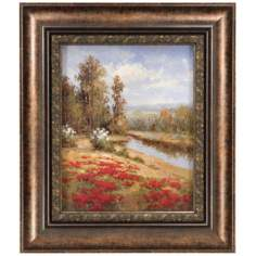 "Poppy Vista I Print 20"" High Wall Art"