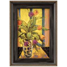 "Tulips Print 10"" High Wall Art"