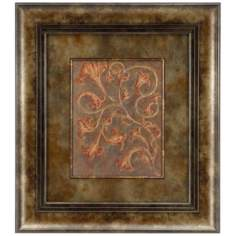 "Barque Petite I Leftward 24"" High Wall Art"