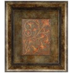 "Barque Petite I Rightward 27"" High Wall Art"