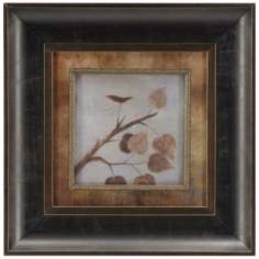 "Aspen Framed 12"" Square Wall Art"