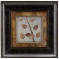 "Birch Framed 12"" Square Wall Art"