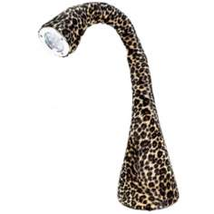 Little Monster Leopard Bendable LED Desk Lamp