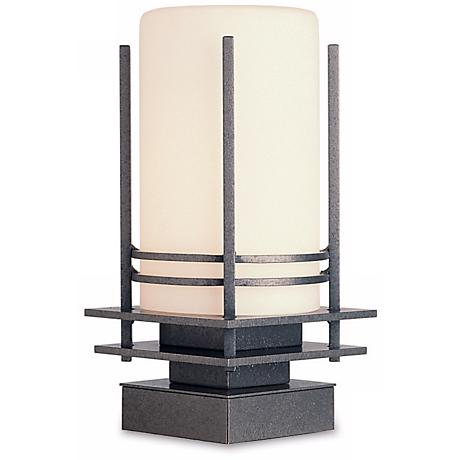 "Hubbardton Forge Double Banded 13"" High Outdoor Light"