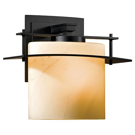 "Hubbardton Forge Arc Ellipse 11"" High Outdoor Wall Light"