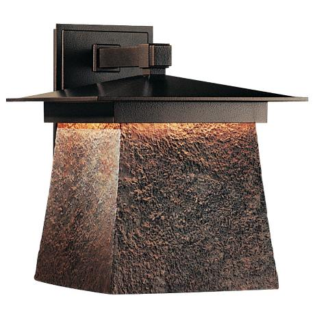 "Hubbardton Forge Lightfall 13 1/2"" High Dark Sky Wall Light"