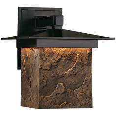 "Hubbardton Forge Lightfall 11 3/4"" High Dark Sky Wall Light"
