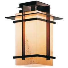 "Hubbardton Forge Tourou 12 1/2"" High CFL Semi-Flush Light"