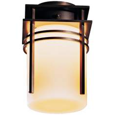 Hubbardton Forge Double Banded CFL Semi-flush Ceiling Light