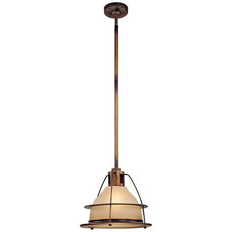"Bristol Bay Collection 13 1/2"" High Outdoor Pendant Light"