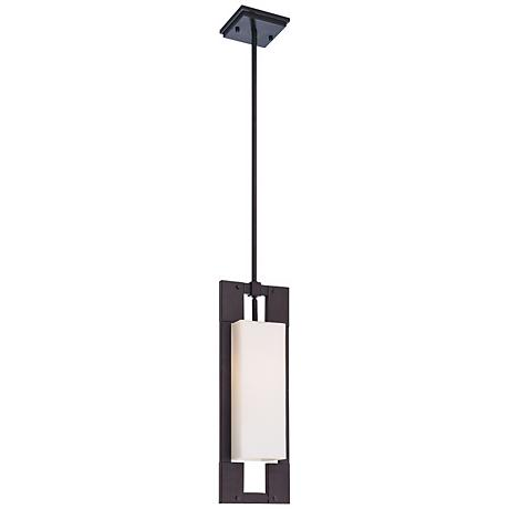 "Blade Collection 20 1/2"" High Outdoor Hanging Light"