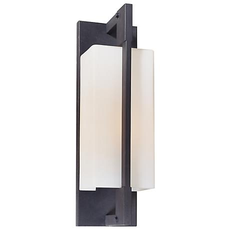 "Blade Collection 15"" High Outdoor Wall Light"