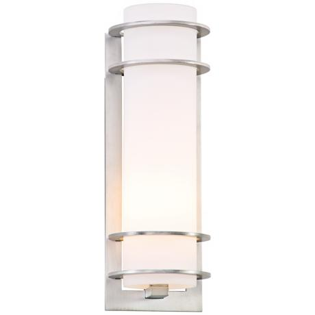 "Vibe Collection Aluminum 16 1/4"" High Outdoor Wall Light"
