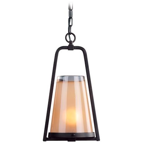 "Dylan Collection 17 1/4"" High Outdoor Hanging Light"