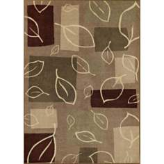 Fall Impression Wheat Area Rug