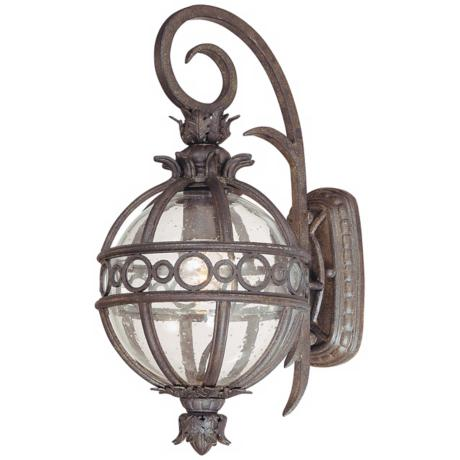 "Campanile Collection 17"" High Outdoor Wall Light"