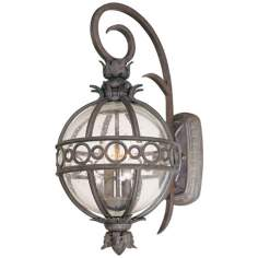 "Campanile Collection 22 1/4"" High Outdoor Wall Light"