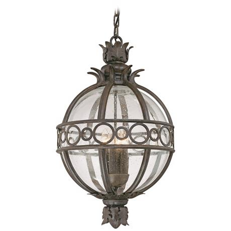 "Campanile Collection 23 1/2"" High Outdoor Hanging Light"