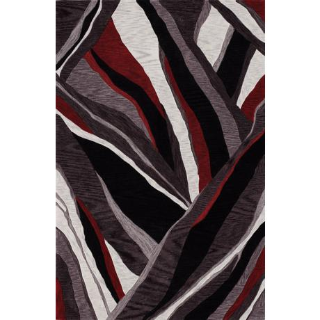 Canyon Black Area Rug