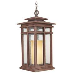 "Cottage Grove Collection 24 1/2"" High Outdoor Hanging Light"