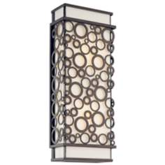 "Aqua Collection 17"" High Outdoor Wall Light"