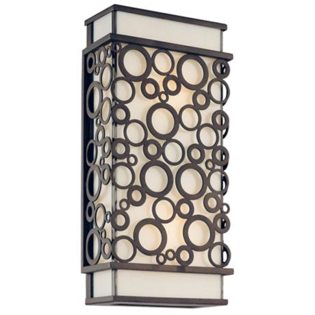 "Aqua Collection 14"" High Outdoor Wall Light"