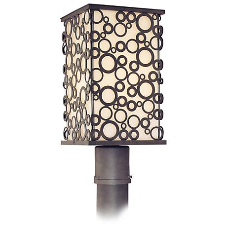 "Aqua Collection 15 3/4"" High Outdoor Post Light"