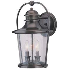 "Guild Hall Collection 15 1/2"" High Outdoor Wall Light"