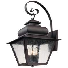 "Livingston Collection 20"" High Outdoor Wall Light"