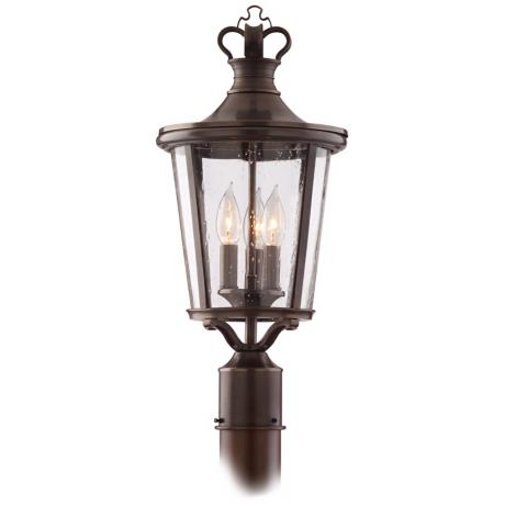 "Britannia Collection 21 1/4"" High Outdoor Post Light"