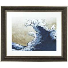 "Walt Disney Fantasia Waves Print 38 1/2"" Wide Wall Art"