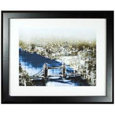 "Walt Disney Peter Pan Thames Print 35"" Wide Wall Art"