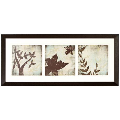 Walt Disney Alice in Wonderland Leaf Series Framed Wall Art